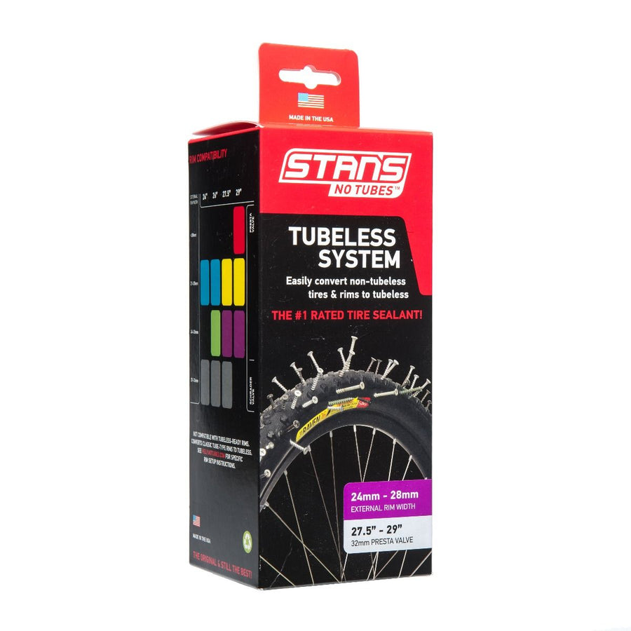 Kit conversión All mountain Tubeless Stans No Tubes
