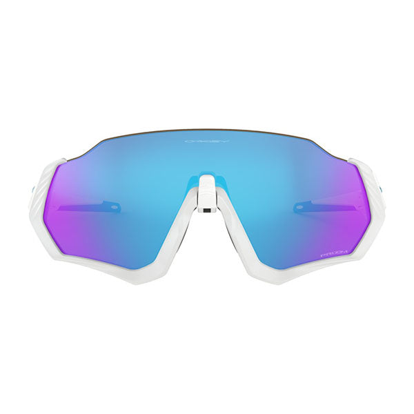 Gafas Oakley Flight Jacket Matte Polished White/Prizm Sapphire