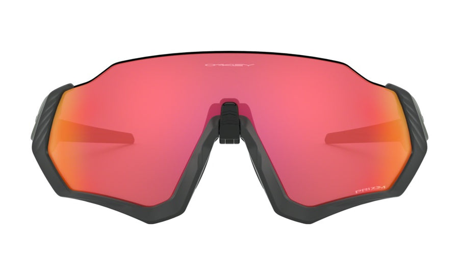 Gafas Oakley Flight Jacket Matte Steel/Prizm Trail Torch