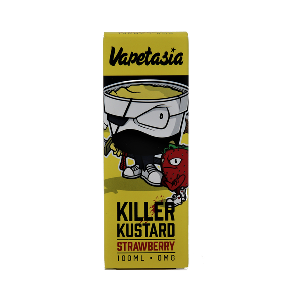 Killer Kustard Strawberry - 100ML