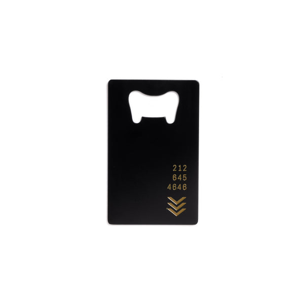 212 Key Card Bottle Opener - Shop The Standard