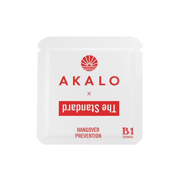 AKALO Vitamin B1 Hangover Patch - Shop The Standard