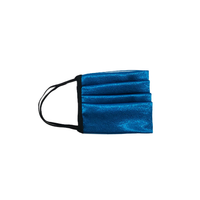 Blue Glossy Satin Mask - Shop The Standard