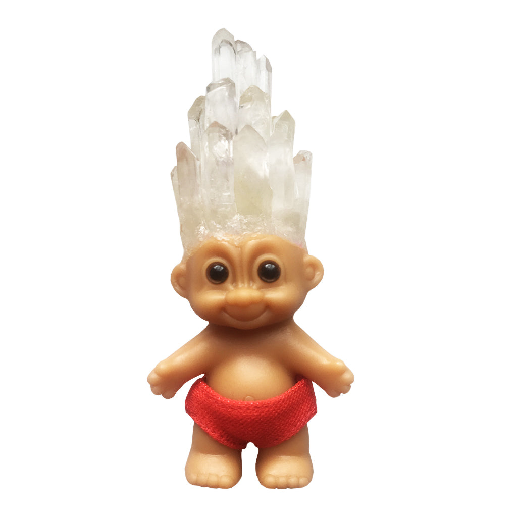 BLONDE OMEN x The Standard Crystal Haired Troll - Shop The Standard