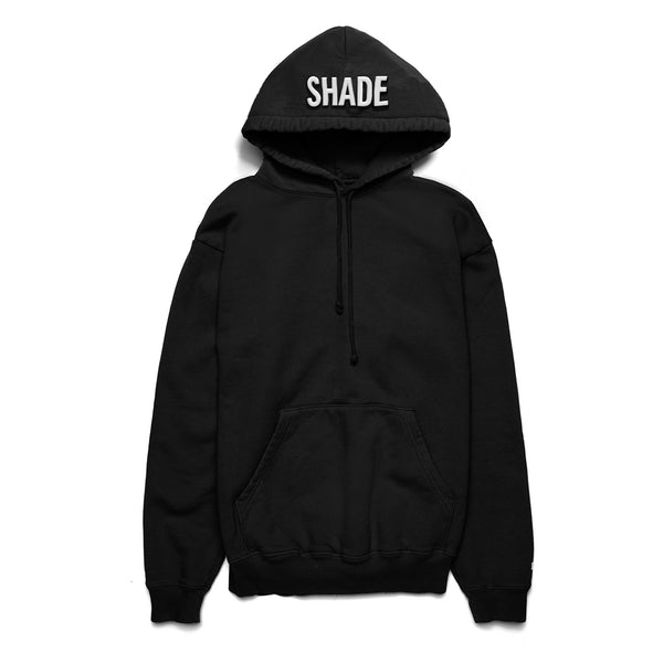 Shade Puff Print Hoodie Black - Shop The Standard