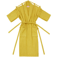 London Robe in Yellow Herringbone - Shop The Standard