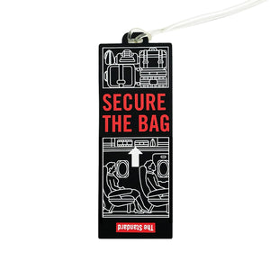 Secure The Bag Luggage Tag - Shop The Standard