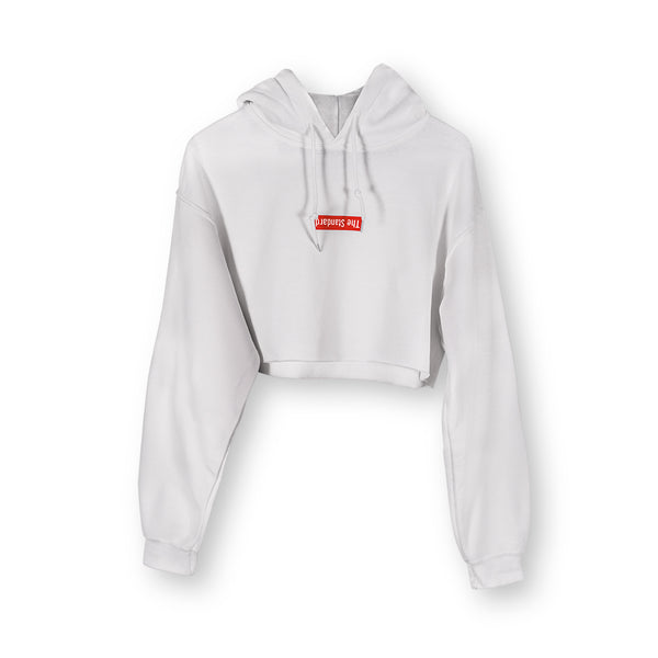 Standard Logo Cropped Hoodie - Shop The Standard