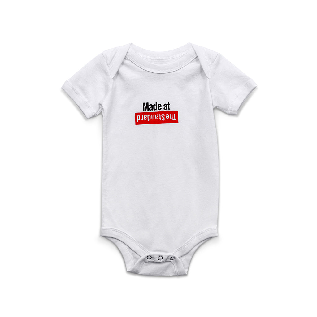 """Made at The Standard"" Onesie - Shop The Standard"