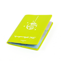 Disco Globe Passport Holder Green