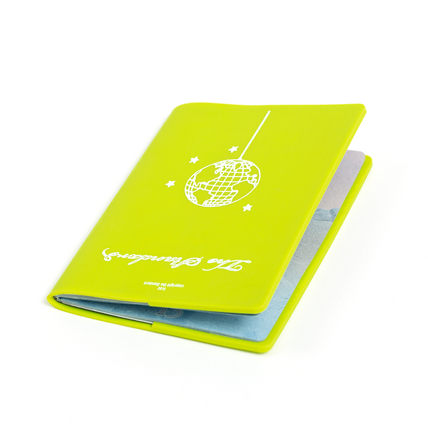Disco Globe Passport Holder Green - Shop The Standard