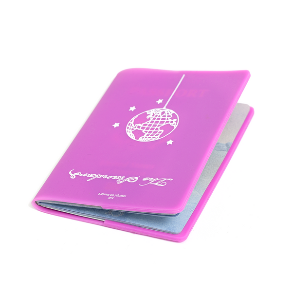 Disco Globe Passport Holder Purple - Shop The Standard