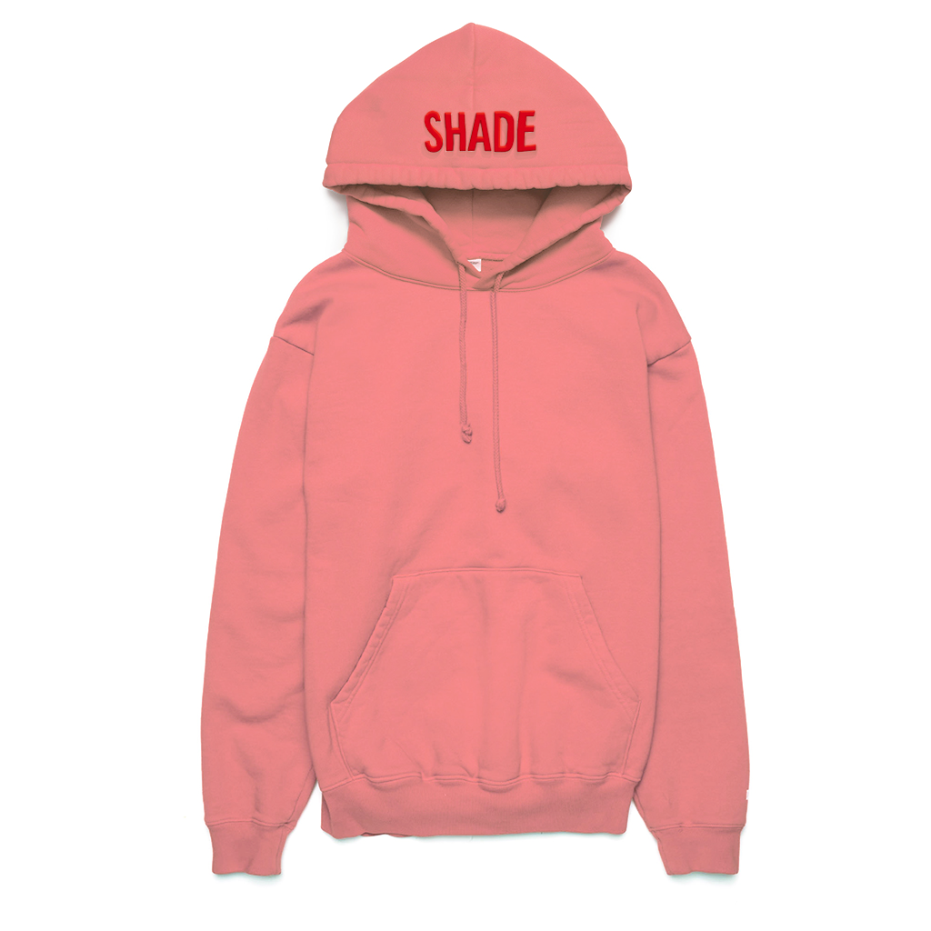 Shade Puff Print Hoodie Pink - Shop The Standard