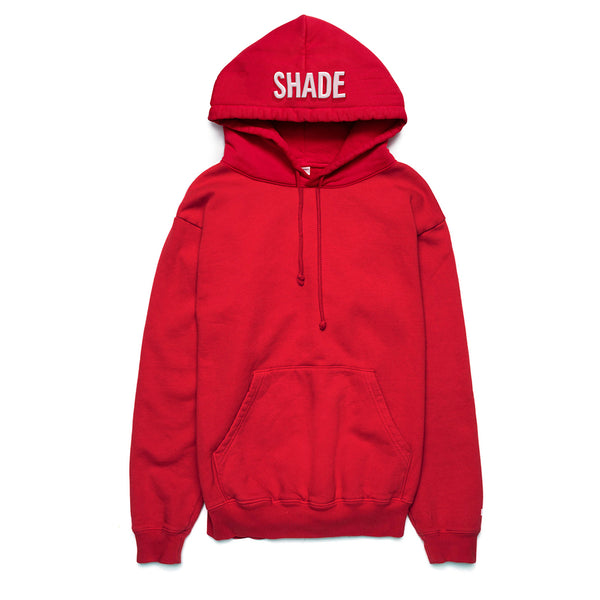 Shade Puff Print Hoodie Red - Shop The Standard