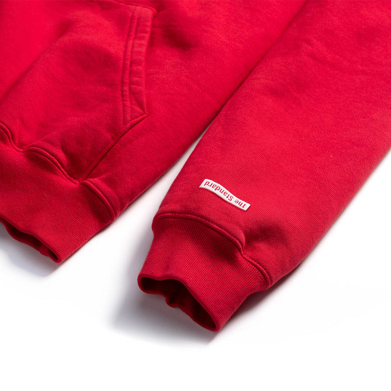 products/RedHoodie_SleeveShot.jpg