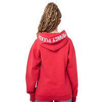 Privacy Please Puff Print Hoodie Red - Shop The Standard