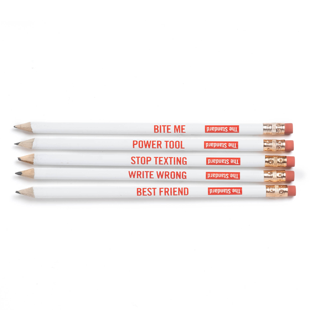 Write Wrong Pencil Pack - Shop The Standard