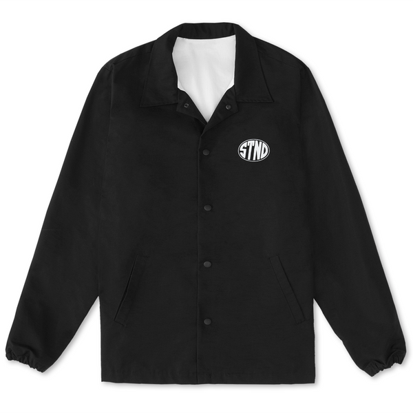 STND Coaches Jacket Black