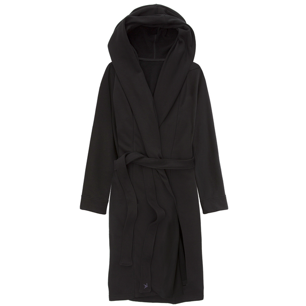 Hooded Fleece Street Robe