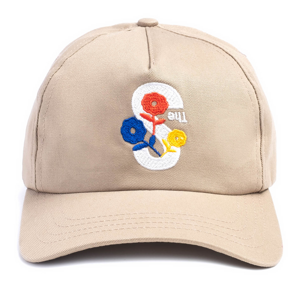 The S Embroidered 5-Panel Hat