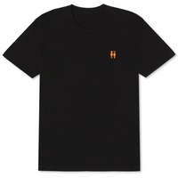 Too Hot Embroidered T-Shirt Black - Shop The Standard