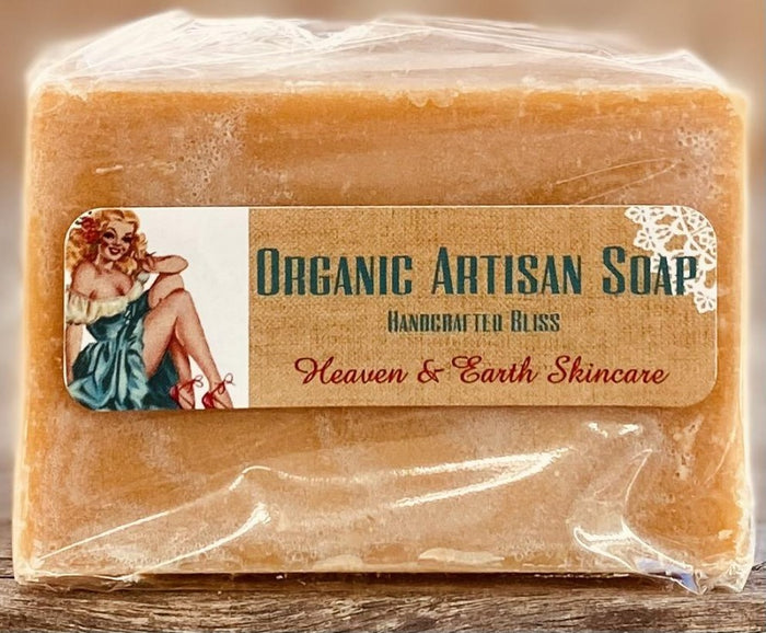 Pumpkin Pie Organic Soap (5 oz bar)