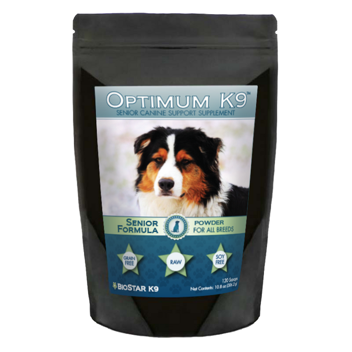 Optimum K9 Senior by BioStar (120 scoops)