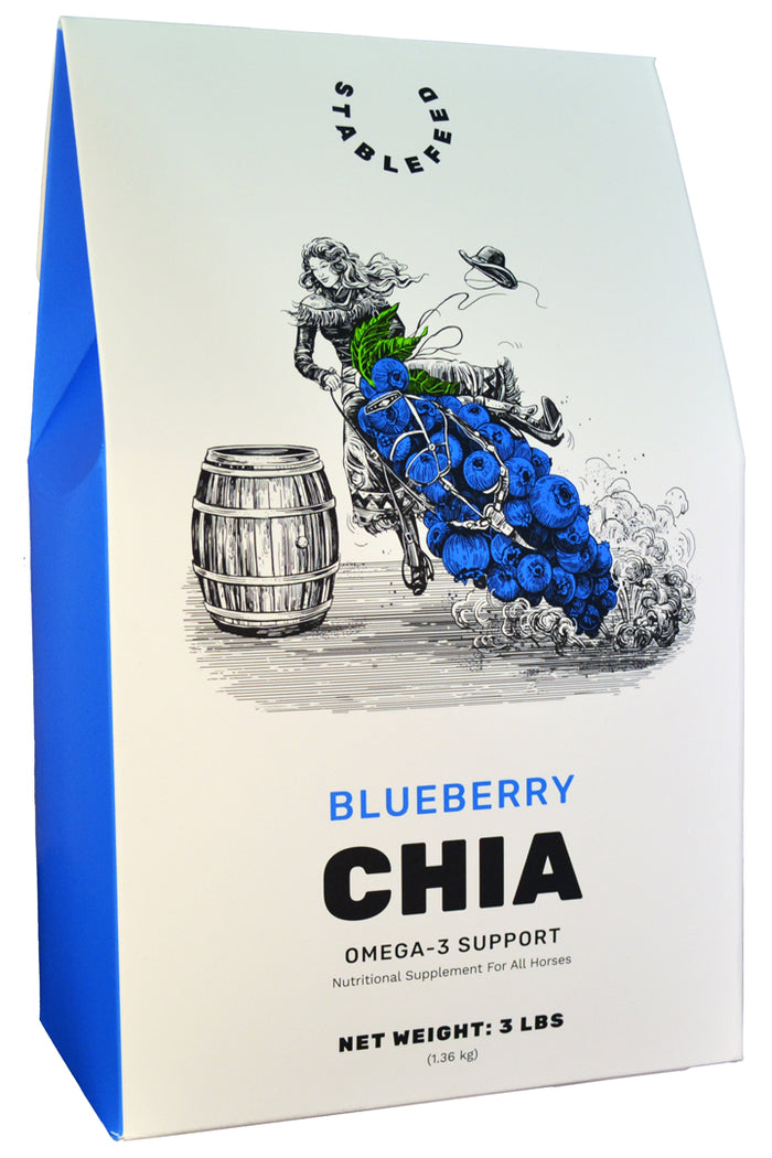 Blueberry Chia Omega-3 Support by StableFeed
