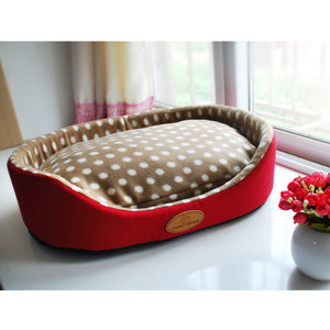 Frenchie Corner®  Luxury Bed with Pillow