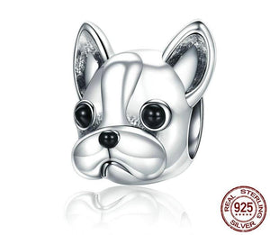 Frenchie Corner® 925 Sterling Silver French Bulldog Bead