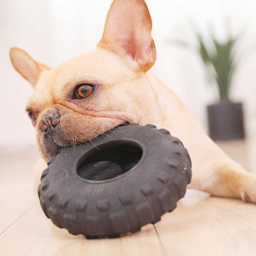 Frenchie Corner® Tire Toy Chewer