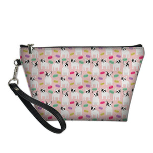 Frenchie Corner® 7 Colors Cosmetic Bags