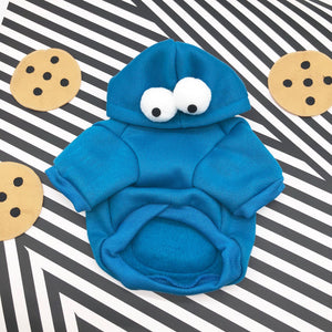Frenchie Corner® Cute Cookie Monster Hoodie