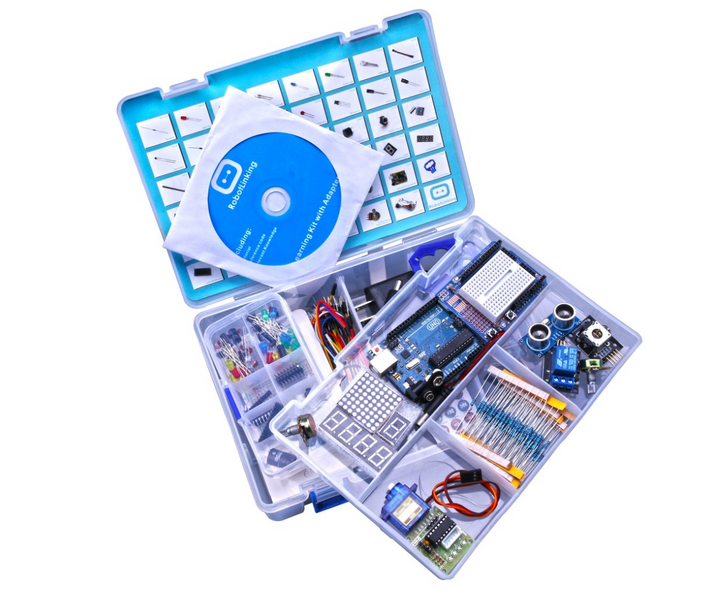 The Arduino Advanced Tutorial Kit with CD