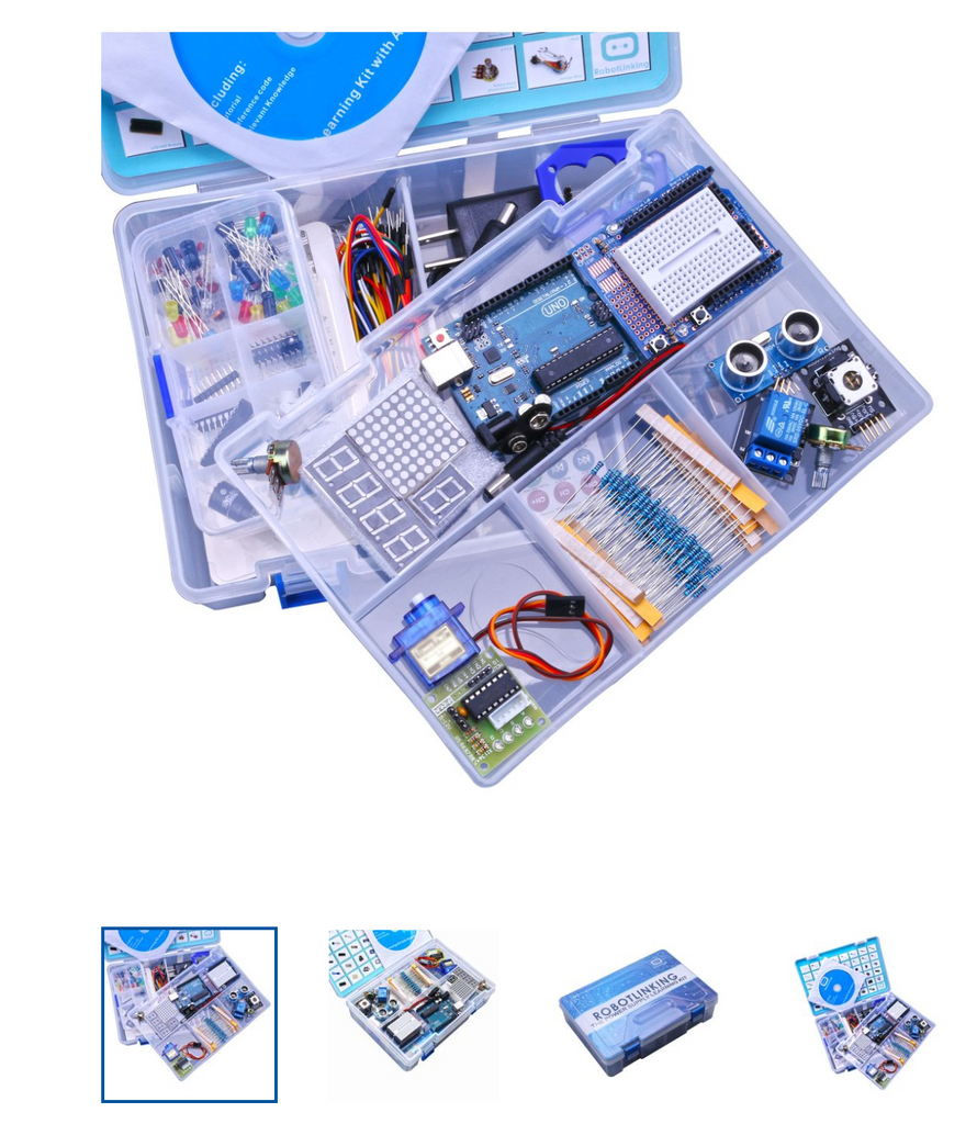 advanced tutorial kit for arduino learn