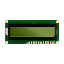 Green LCD Display