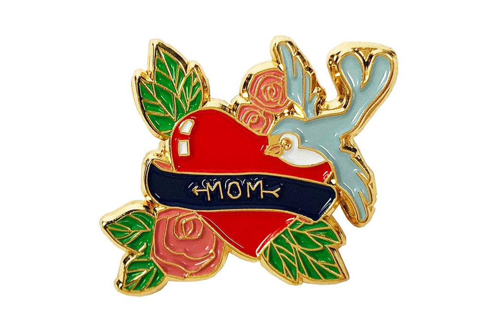 Mom Heart Pin
