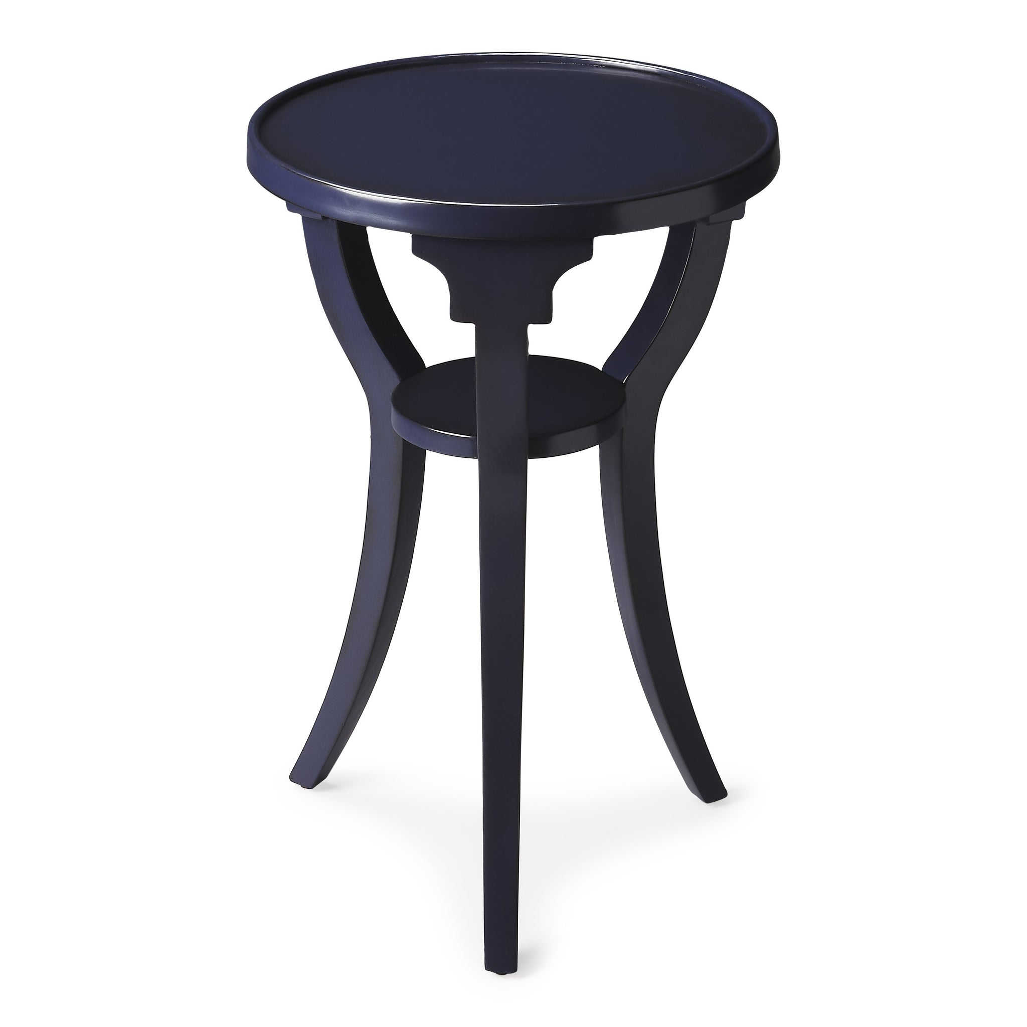 Dalton Navy Round Accent Table