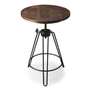 Trenton Metal & Wood Accent Table
