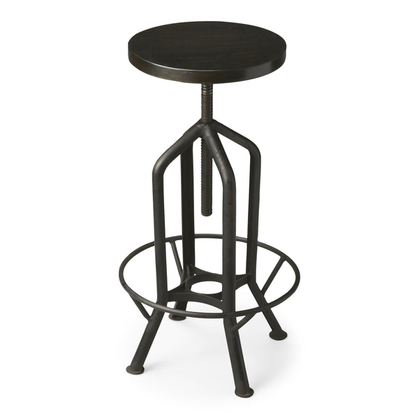 Hampton Iron Revolving Bar Stool