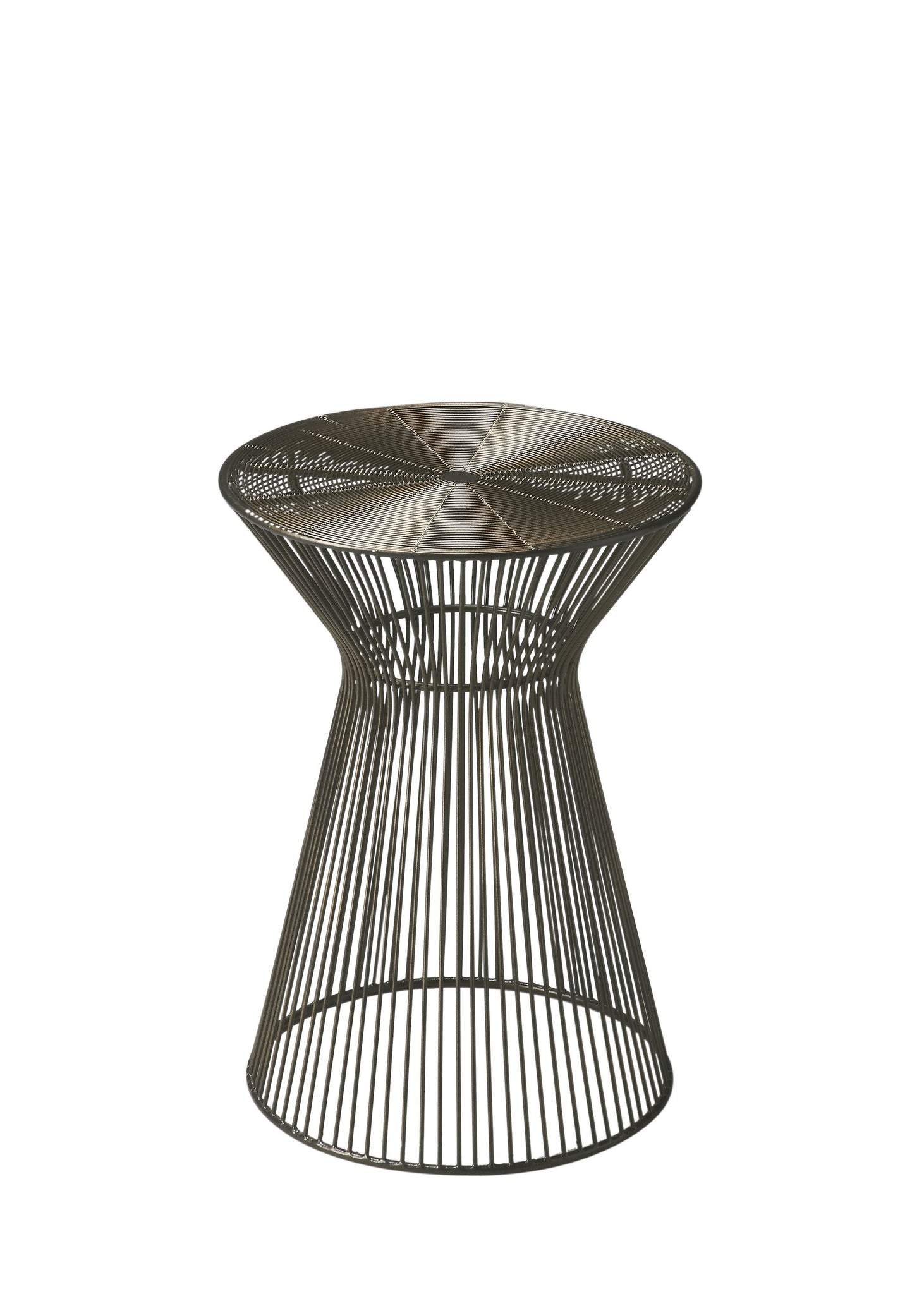 Greeley Round Metal Accent Table