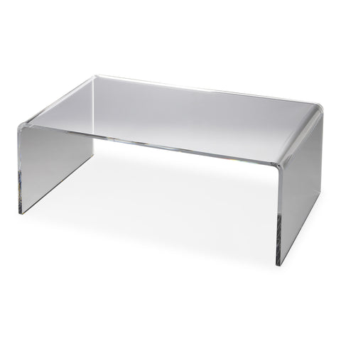 Crystal Clear Acrylic Coffee Table