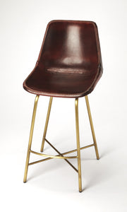 Commercial Leather Bar Stool