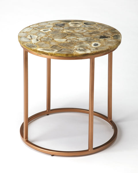 Cora Agate End Table