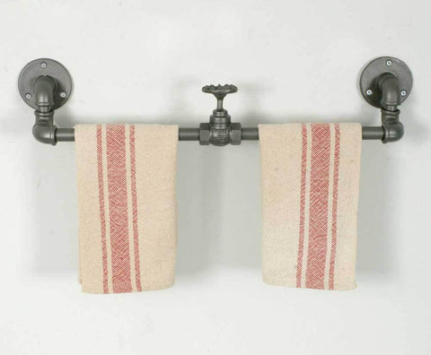 Industrial Towel Rack with Valve - Box of 2