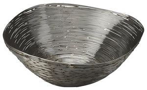Live Wire Metal Decorative Bowl