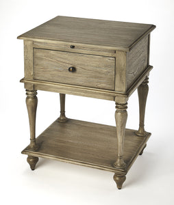 Ashburn Gray Dawn End Table