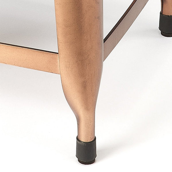 Hatcher Leather Low Stool