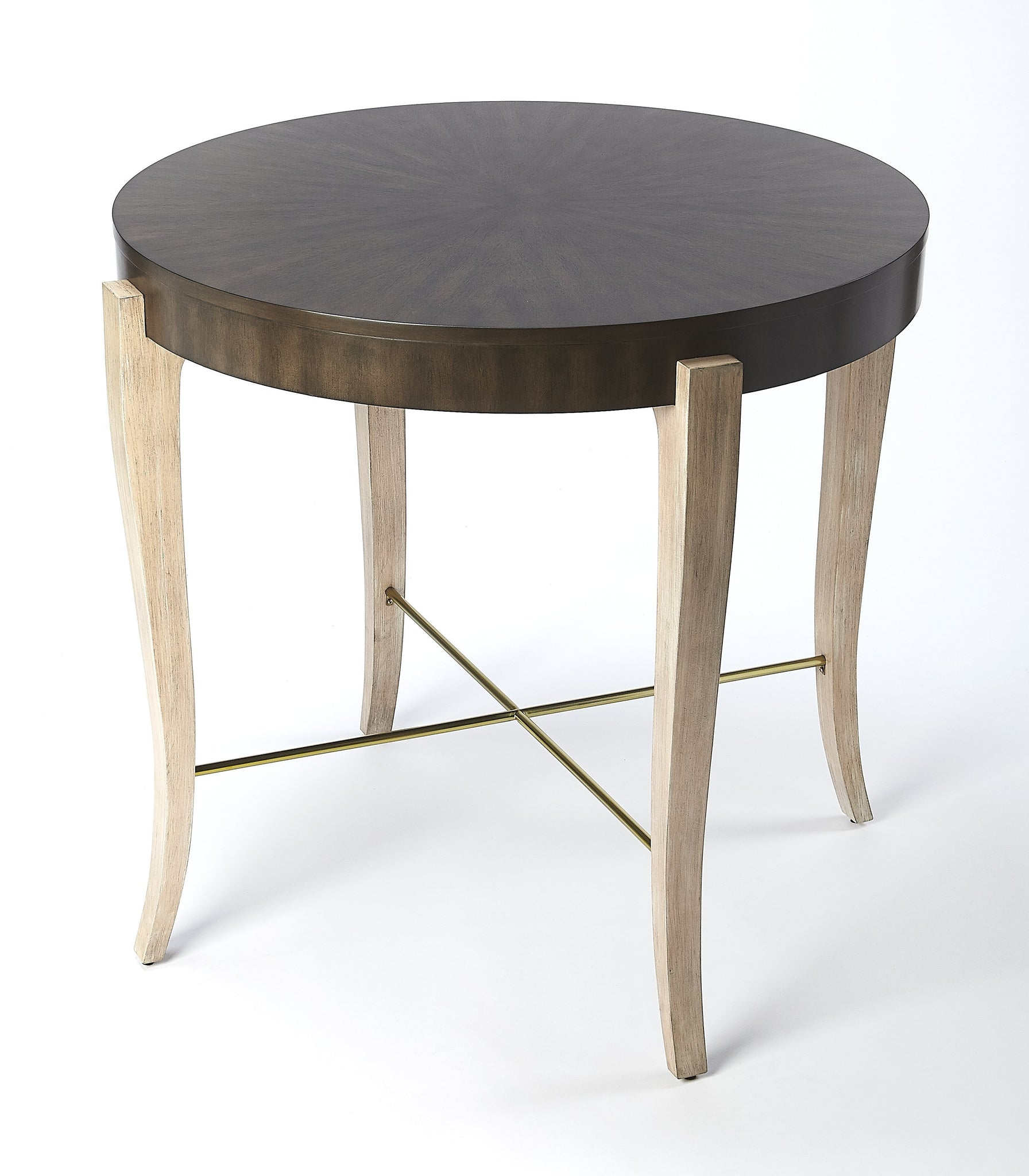 Blanchard Black Coffee Wood Foyer Table