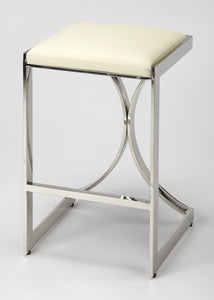 Natalya Silver Counter Stool